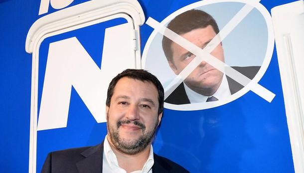 Salvini, Renzi leader solo per 15 giorni