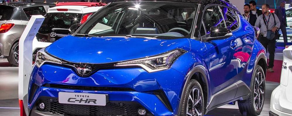 Crossover Toyota C-HR Design e tanta sicurezza