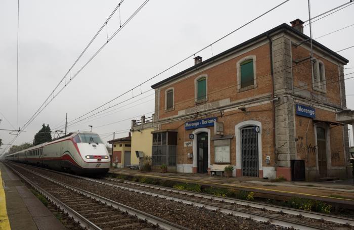 La stazione di Morengo-Bariano