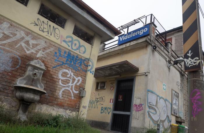 La stazione di Vidalengo
