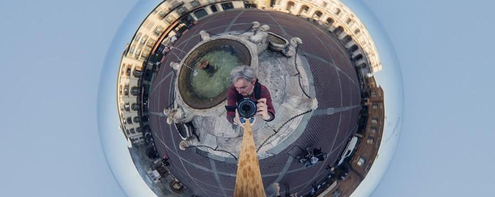 Bergamo in un quadro di Escher? No, la magia è in queste foto