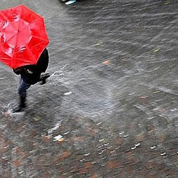 Torna la pioggia  al Nord Sarà un freddo weekend
