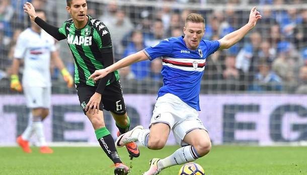 Serie A: Sampdoria-Sassuolo 3-2