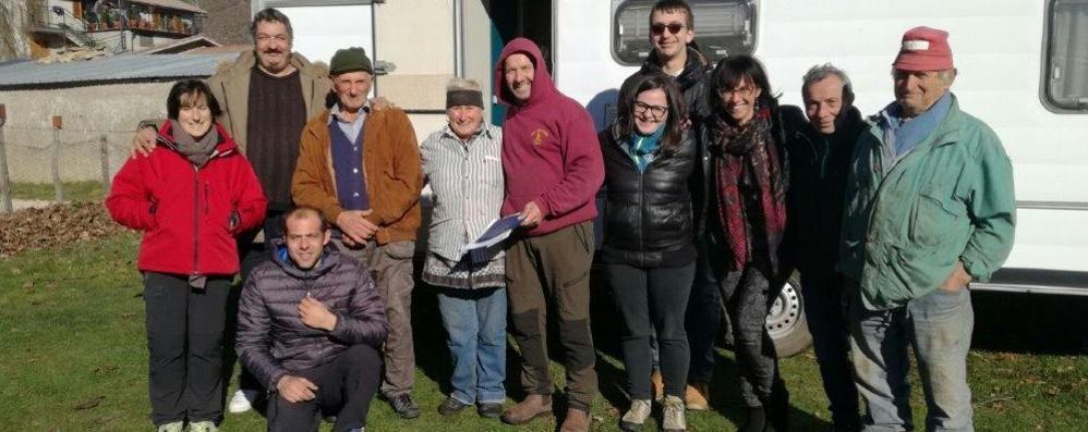 Da Curno 20 caravan per Norcia  Speranza per gli allevatori terremotati