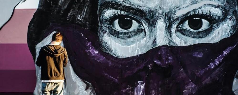 Donizetti rivive su una parete del Falcone Due street artist realizzeranno il murale