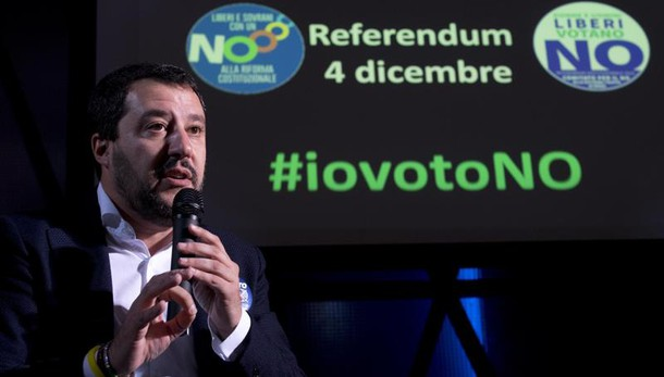 Salvini, se vince no subito al voto