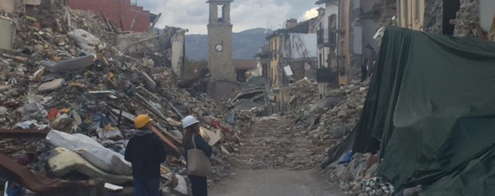 Bergamo per Amatrice donati 15 container ai terremotati