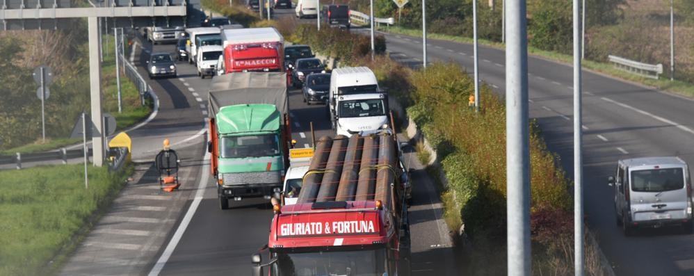 Segui il traffico in tempo reale Incidente al Cassinone di Seriate