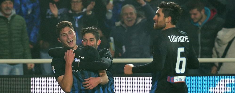Atalanta: Caldara ci ha preso gusto Il difensore segna più di Higuain