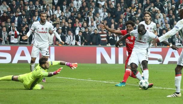 Champions: Besiktas agguanta Benfica