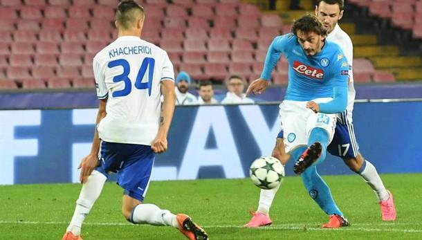 Champions: Napoli-Dinamo Kiev 0-0