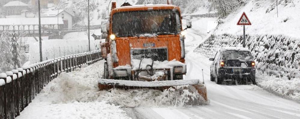 La neve per ora non c'è, il piano sì I consigli del Comune in caso di bufera