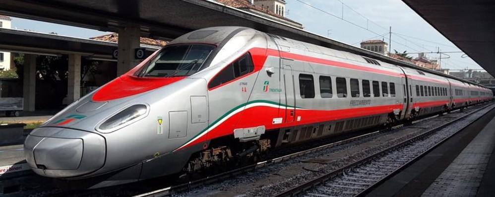 Da Bergamo a Roma in 4 ore e mezzo L'11 dicembre arriva la Freccia Argento