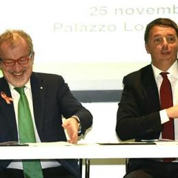 Firmato il Patto per la Lombardia Dentro ci sono Pedemontana e rondò A4