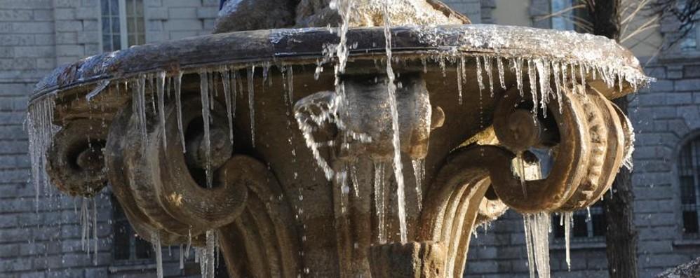 Attenzione, rischio neve per martedì Temperature in calo anche di 10 gradi