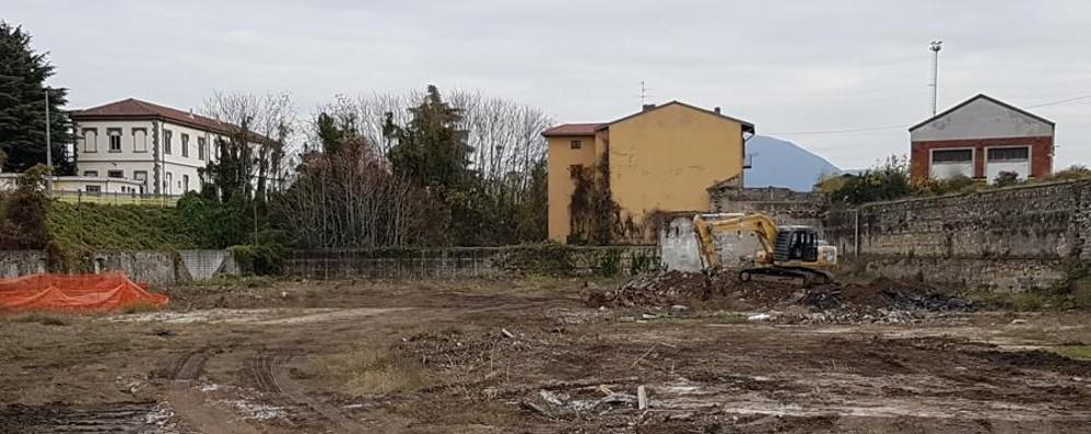 Ex gasometro, ripresi i lavori Parcheggio pronto ad inizio 2018