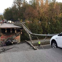 Crollo del ponte di Annone Brianza C'è attesa per gli avvisi di garanzia