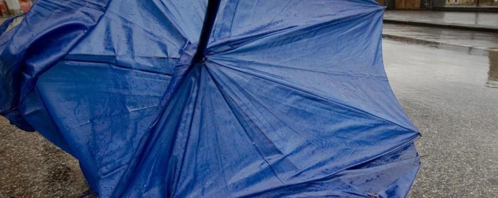 Non solo pioggia nel weekend Arriva anche il vento in pianura