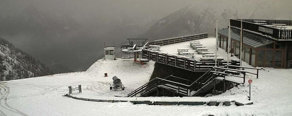 Spruzzata di neve in montagna -Foto Maltempo fino a domenica
