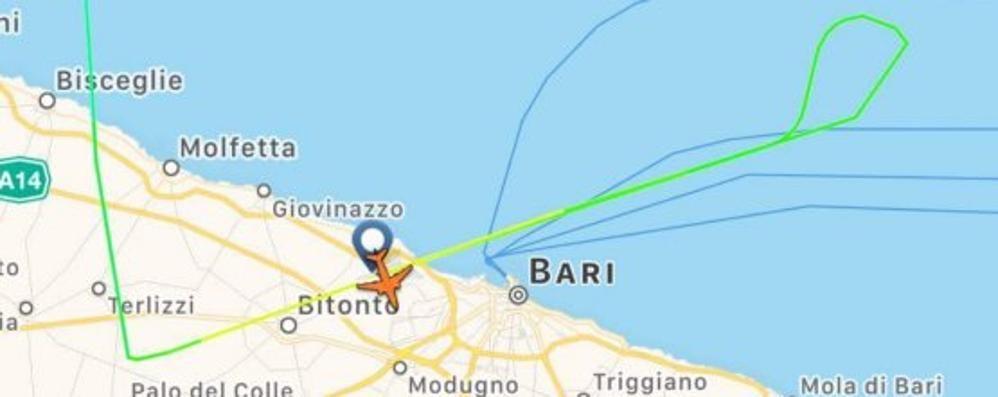 Tensione sul volo Ryanair Orio-Bari Fallisce l'atterraggio a causa del vento