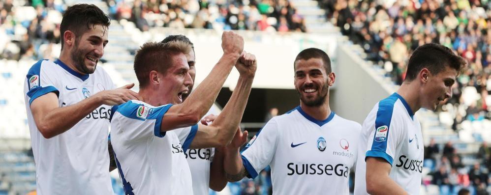 Quest'Atalanta non si ferma più Tre gol al Sassuolo, che spettacolo