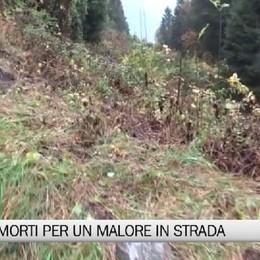 Val Seriana - Morti sulla strada due anziani colti da malore