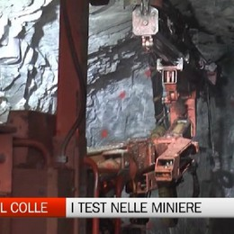 Oltre il Colle, i test degli australiani nelle miniere