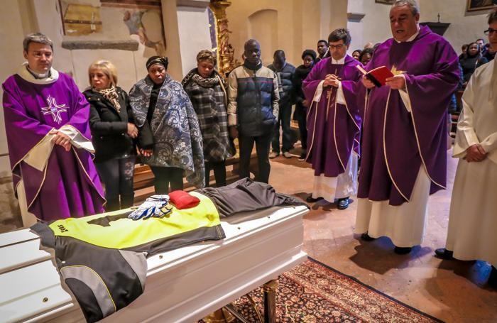 Funerali di  Gerard a Grassobbio