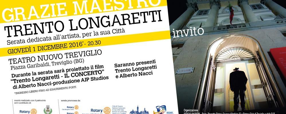 I 100 anni di Longaretti a Treviglio Al Tnt il tributo della sua città natale