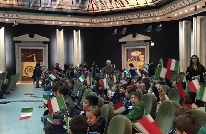 I bambini al Centro Congressi