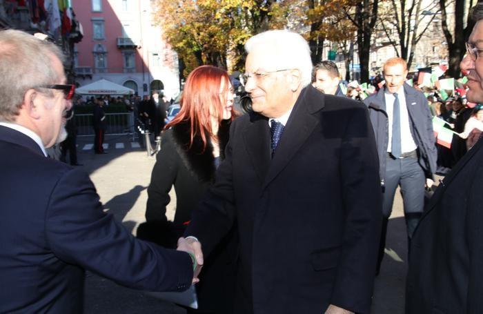 L'incontro con il governatore Roberto Maroni