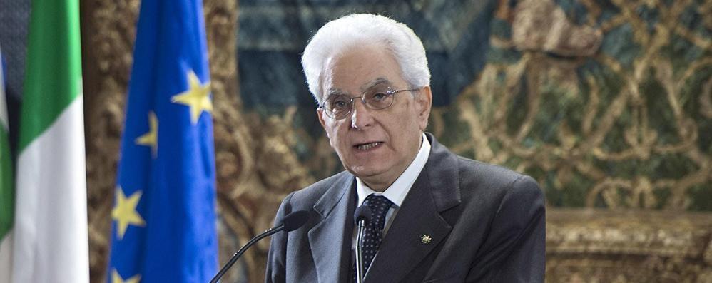 Mattarella è atterrato a Bergamo Il presidente stasera al Donizetti