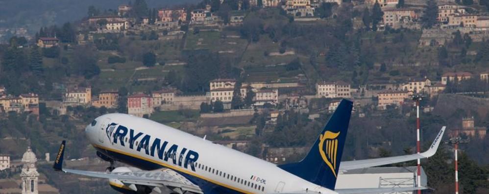 Ryanair vola a Napoli Nuova rotta da Orio al Serio