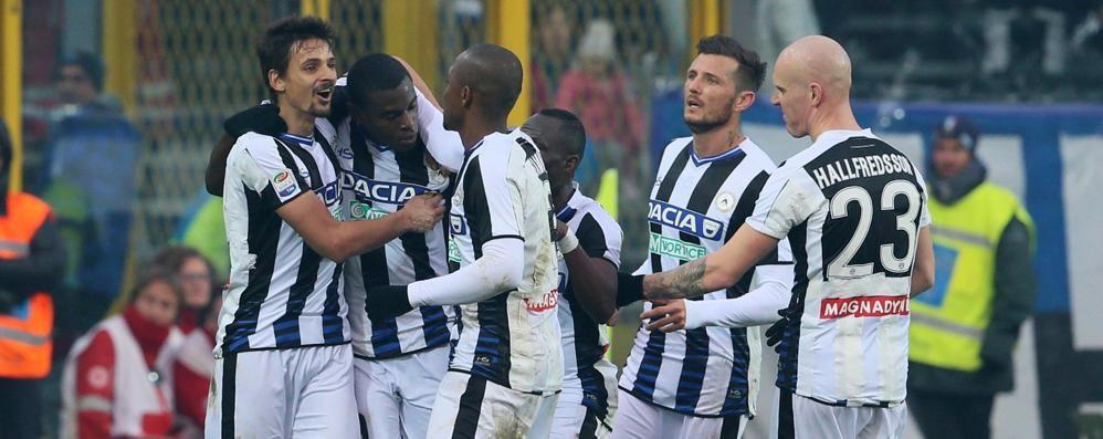 Colpaccio dell'Udinese a Bergamo L'Atalanta fa la partita, ma perde