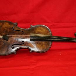 Rubato a Ginevra prezioso violino