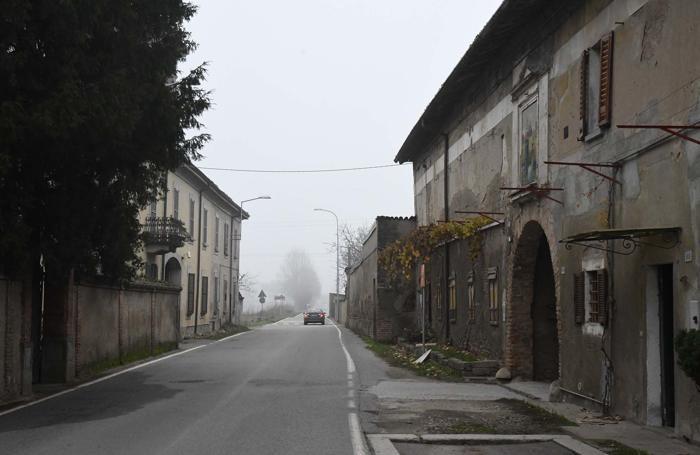 La via di Badalasco dove si è svolta la sparatoria
