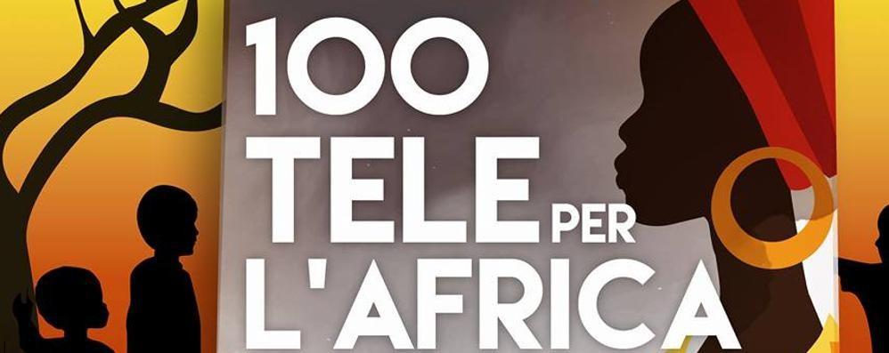 Cento tele per 70 artisti. Per l'Africa Torna a Bergamo My Name Is Help