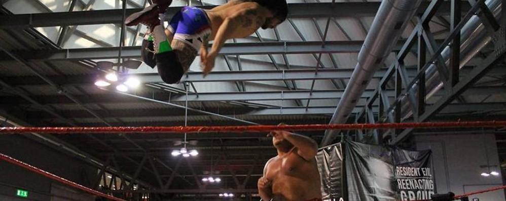 I re del wrestling arrivano a Trescore E c'è il campione mondiale Wolfgang