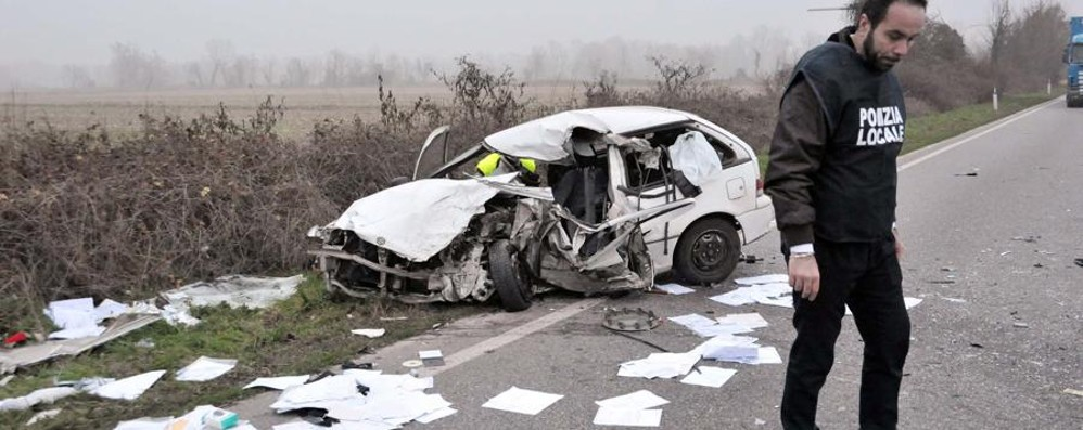 Schianto fatale a Trucazzano Muore 51enne padre di due figli