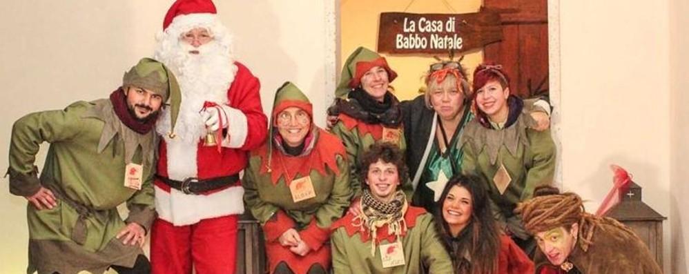 A Gandino la casa di Babbo Natale