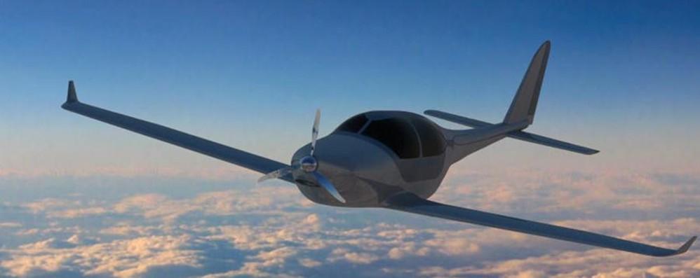 Ecologico ed economico Da Brembate l'idea dell'aereo del futuro