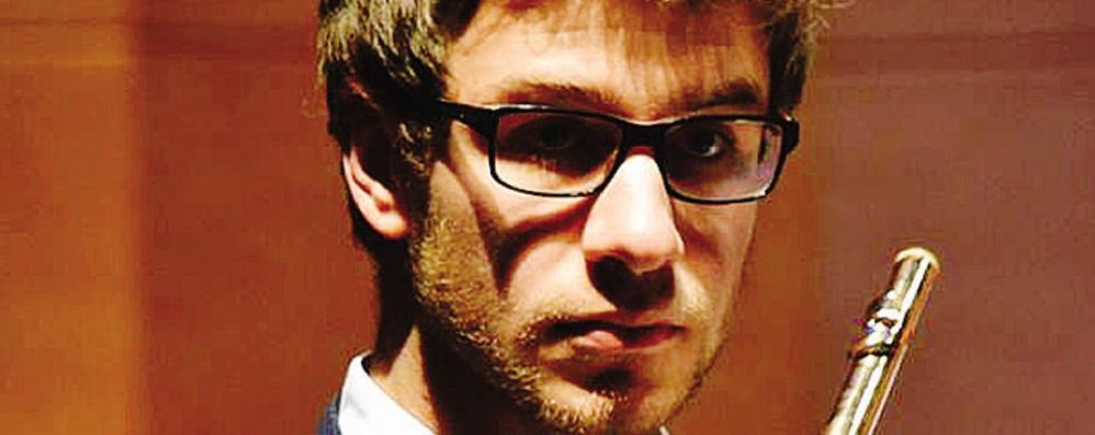 Federico, talento del flauto  Da Seriate a Rotterdam
