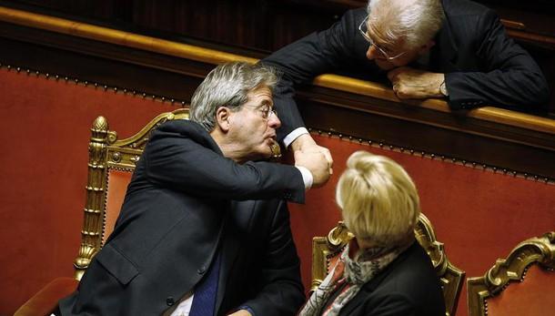 Gentiloni ottiene fiducia Senato, 169 sì