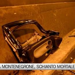 Galleria Montenegrone, schianto mortale