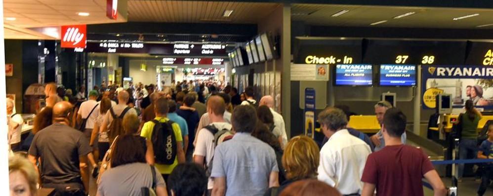 Puntualità, Orio al Serio in vetta Solo il 4% dei voli parte in ritardo