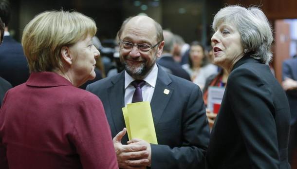 Schulz, Pe coinvolto o Brexit a rischio