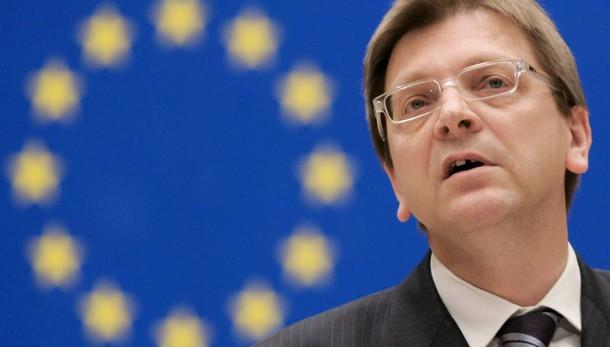 Verhofstadt candidato a presidenza Pe