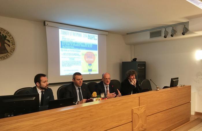 Da sinistra: Radici, Arrigoni, Guerini e Moioli