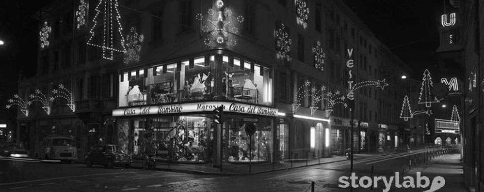Bergamo, la magia del Natale nelle fotografie di una volta