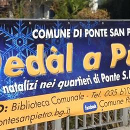 Eco café a Ponte San Pietro in occasione del Nedàl de Pùt